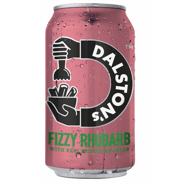 Dalston's Fizzy Rhubarb Cans