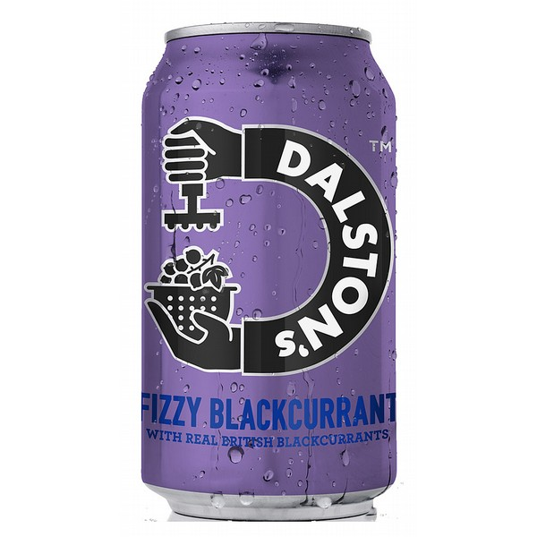 Dalston's Fizzy Blackcurrant Cans