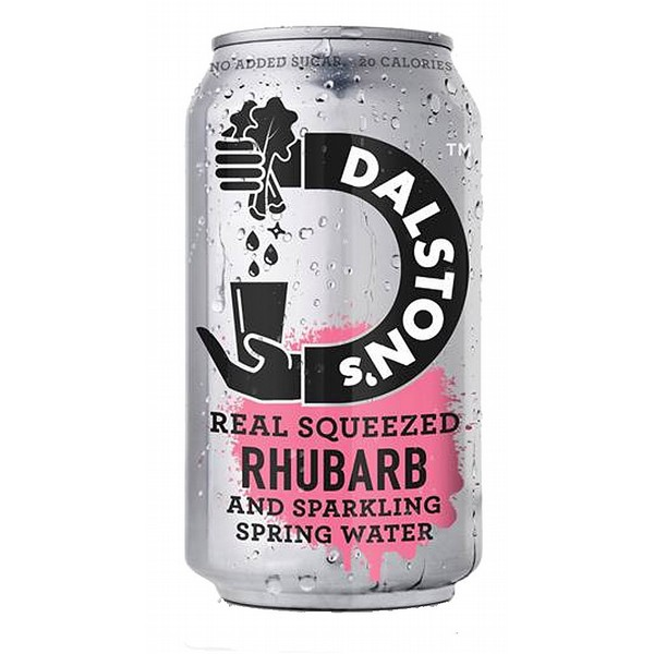 Dalston's Rhubarb Sparkling Spring Water