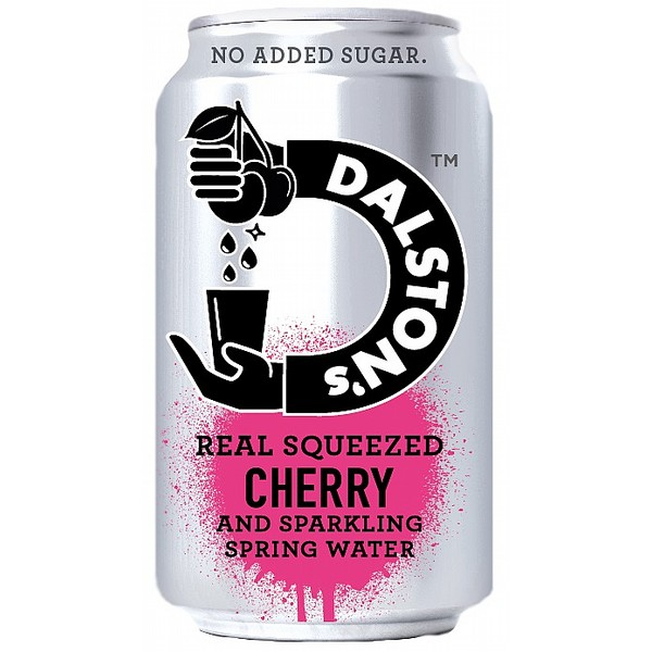 Dalston's Cherry Sprkling Sprng Water Cans