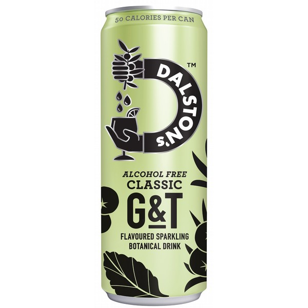 Dalston's Alcohol Free Classic G&T Cans