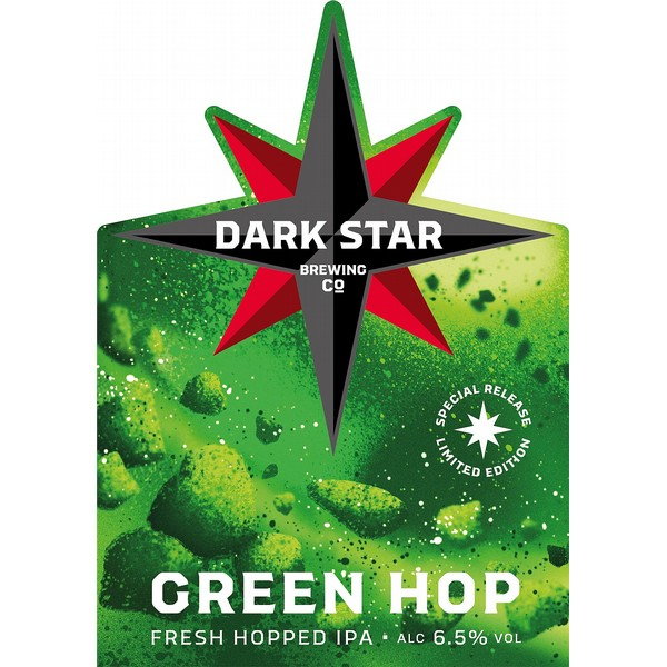 Dark Star Green Hop Pump Clip