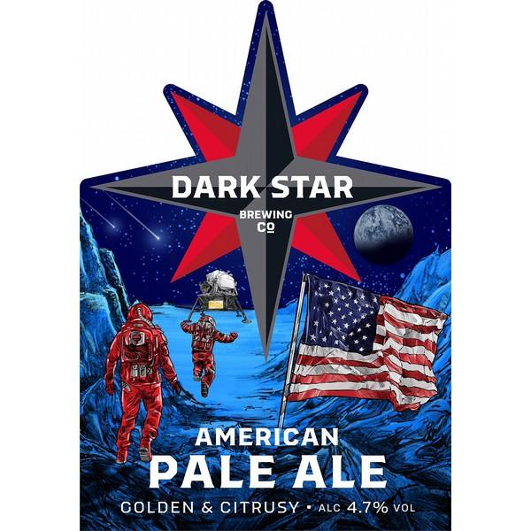Dark Star American Pale Ale Pump Clip