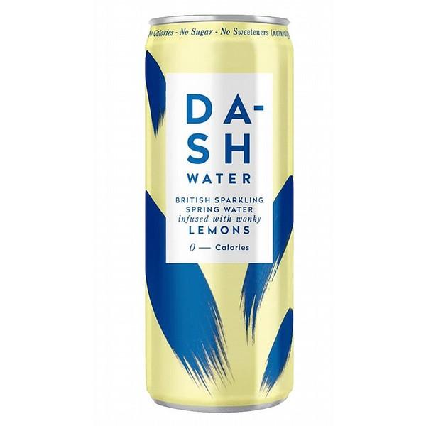 Dash Sparkling Lemon Cans