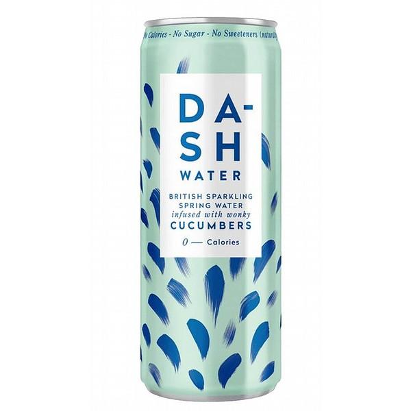 Dash Sparkling Cucumber Cans