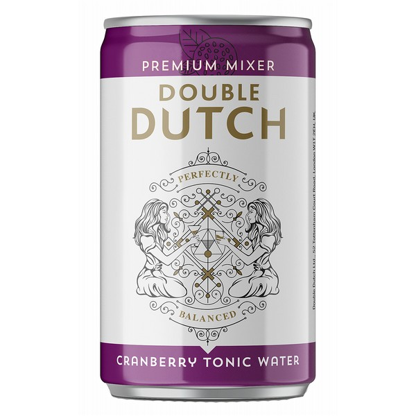 Double Dutch Cranberry & Ginger Cans