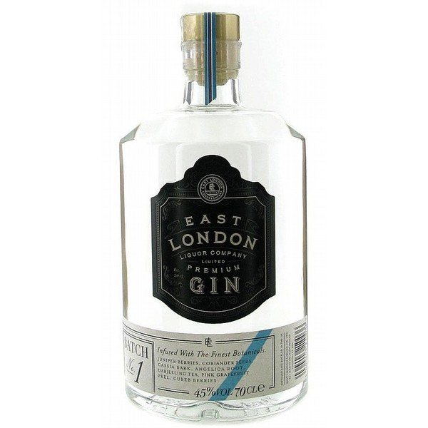 East London Batch 1 Gin