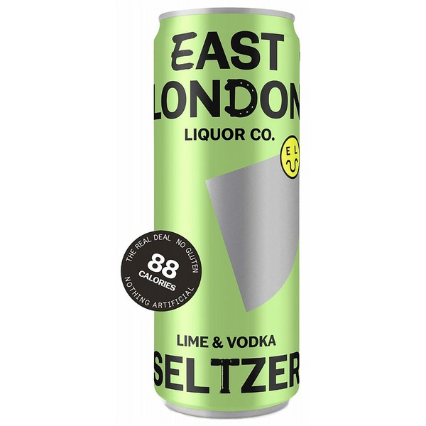 East London Lime & Vodka Seltzer Cans