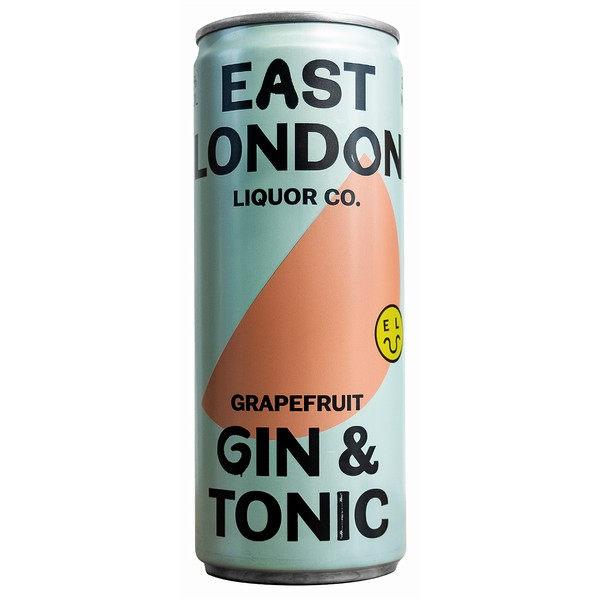 East London Gin & Tonic  Cans