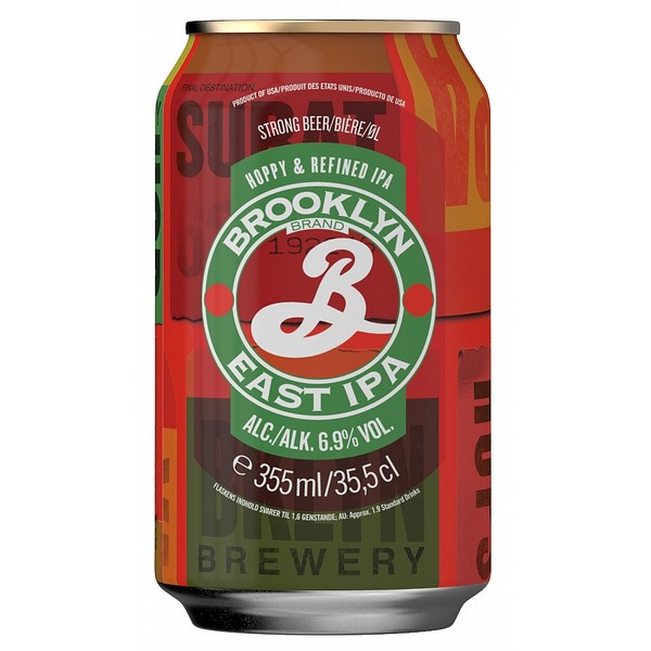Brooklyn East IPA Cans
