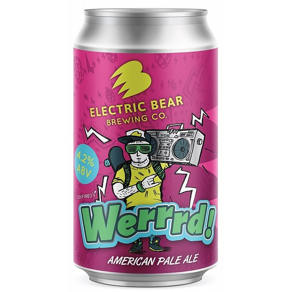 Electric Bear Werrrd! APA Cans