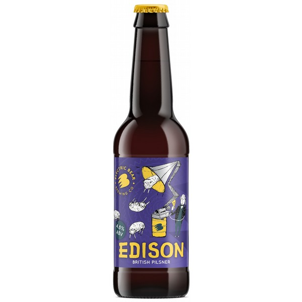 Electric Bear Edison Lager