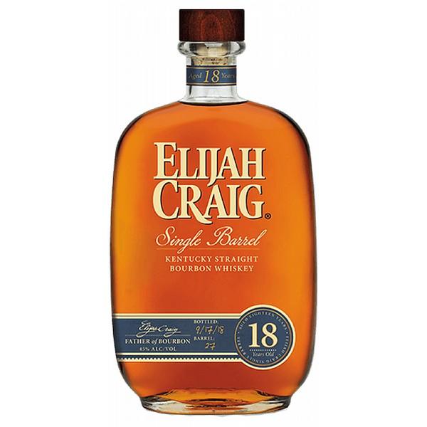 Elijah Craig 18 Year Old