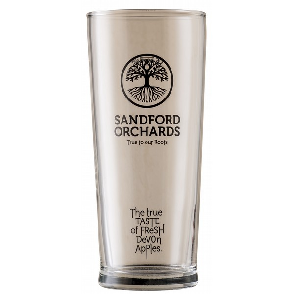 Sandford Orchards Pint Glasses x12