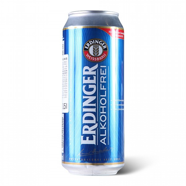 Erdinger Alkoholfrei Can