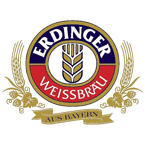 Erdinger Pint Glasses x6