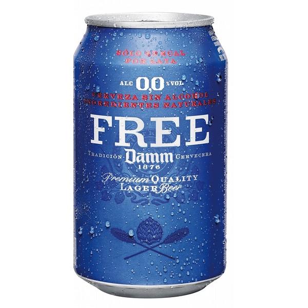 Estrella Free Damm Cans