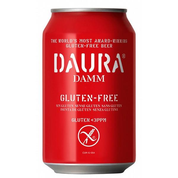 Daura Damm Gluten Free Cans