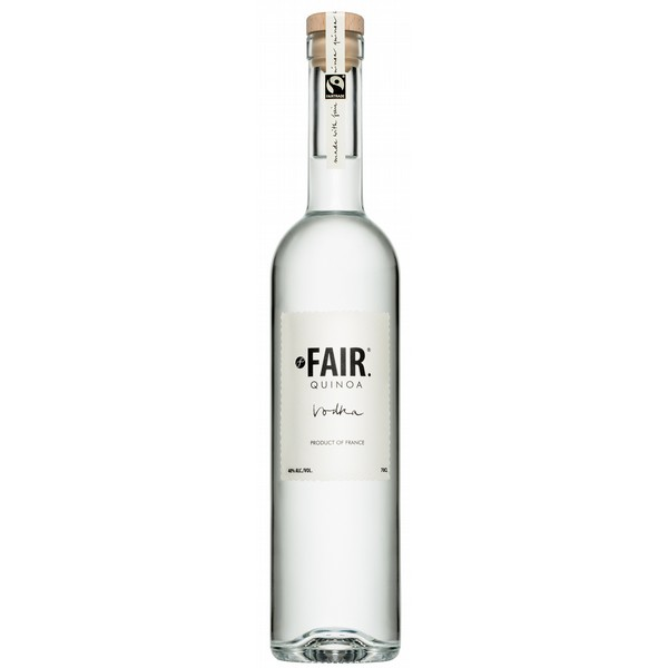 Fair Quinoa Vodka  Fair Trade and Organic