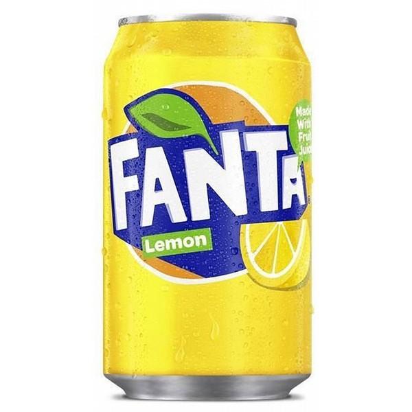 Fanta Lemon Cans