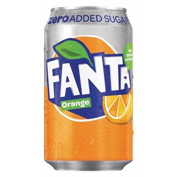 Fanta Orange Zero Cans