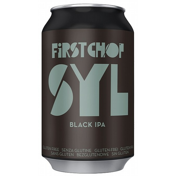 First Chop SYL Black IPA Cans