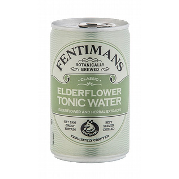 Fentimans Elderflower Tonic Cans