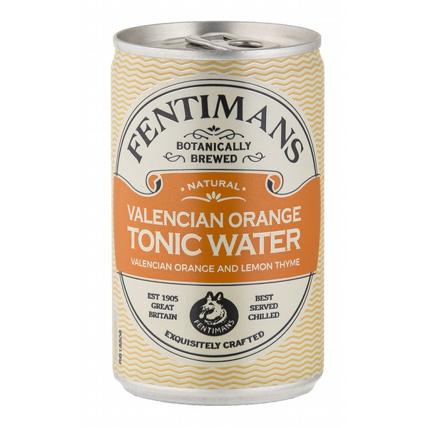 Fentimans Valencian Orange Tonic Cans