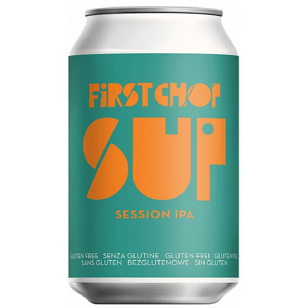First Chop Sup Session IPA Cans
