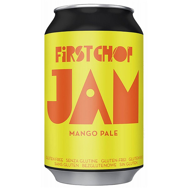 First Chop Jam Mango Pale Ale Cans