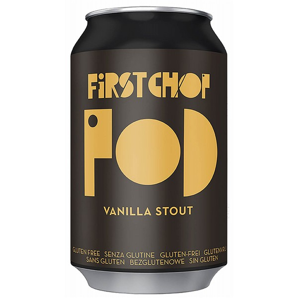 First Chop Pod Vanilla Stout Cans