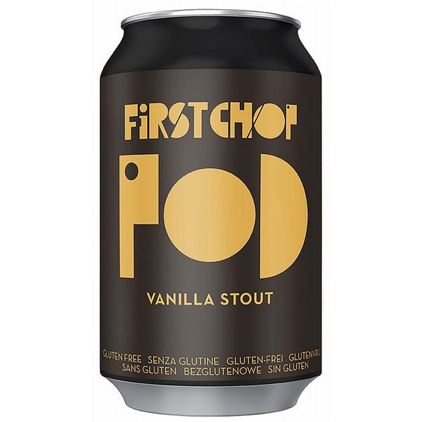 First Chop Pod Vanilla Stout  Cans