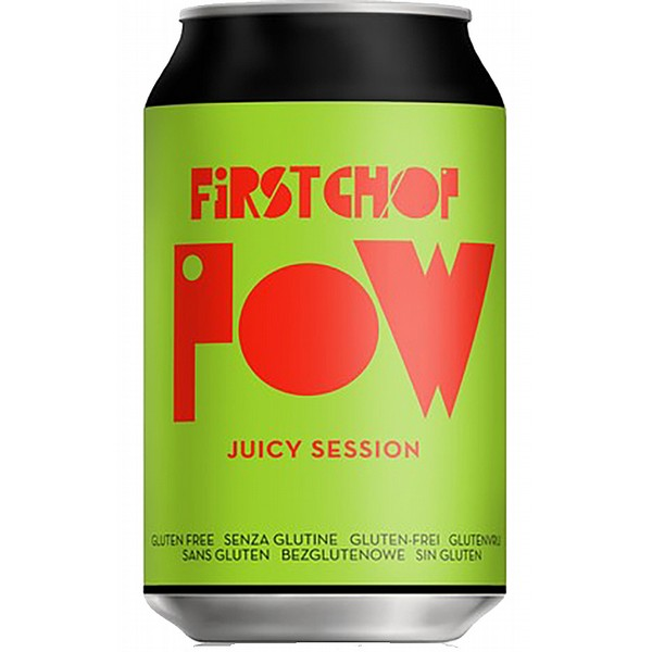 First Chop Pow Session IPA  Cans