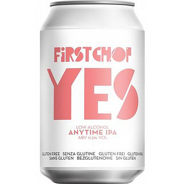 First Chop Yes Anytime IPA  Cans