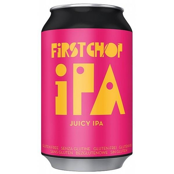 First Chop Juicy IPA Cans