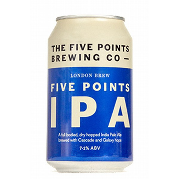 Five Points IPA Cans