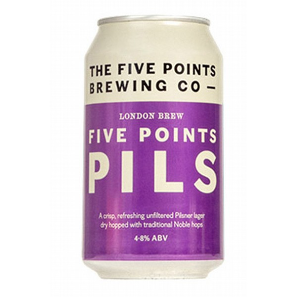 Five Points Pils Cans