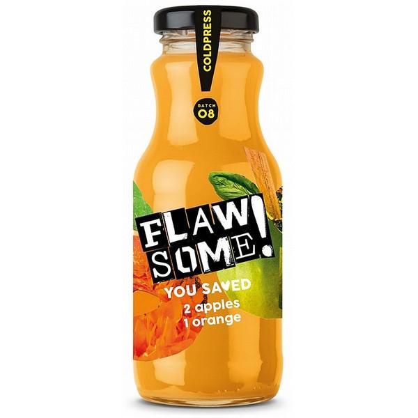 Flawsome! Apple & Orange Juice