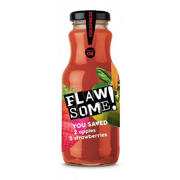 Flawsome! Apple & Strawberry Juice