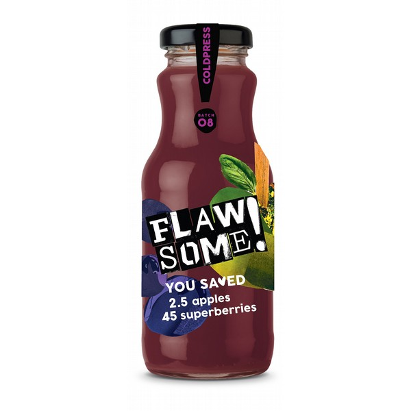 Flawsome! Apple & Superberry Juice