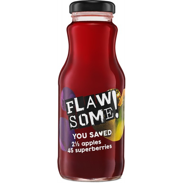 Flawsome! Apple & Superberry Juice