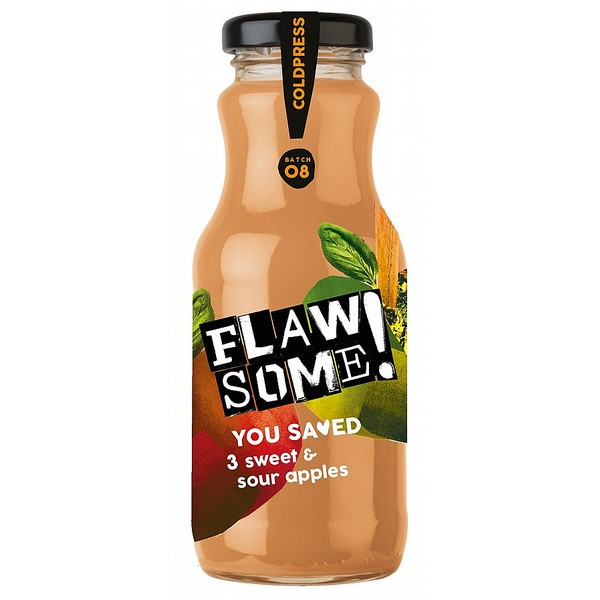 Flawsome! Cold Pressed Sweet & Sour Apple