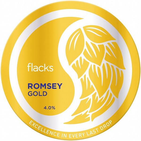 Flack's Romsey Gold Cask