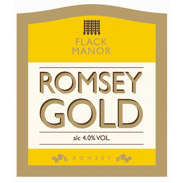 Flacks Romsey Gold Pump Clip