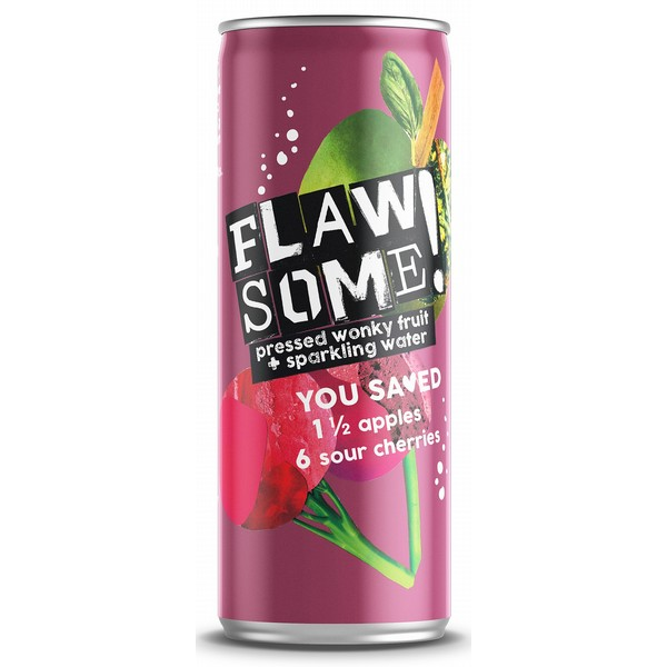 Flawsome! Sweet & Sour Apple Sparkling