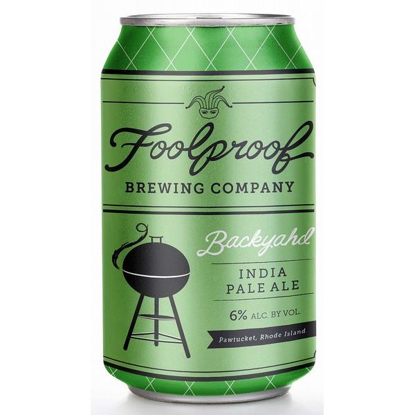 Foolproof Backyahd IPA Cans