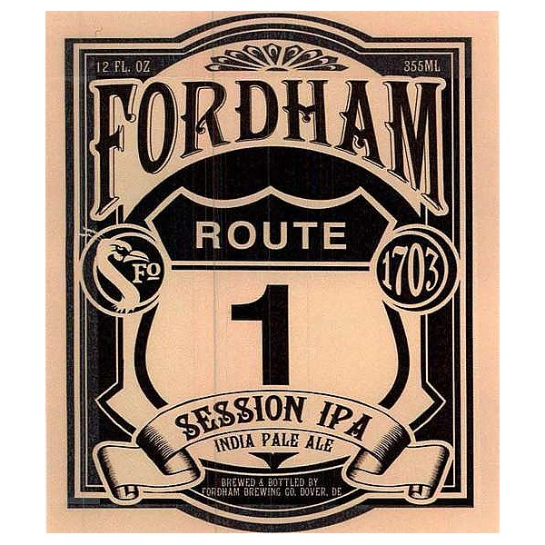 Fordham Route One Oval Flat Tap Badge