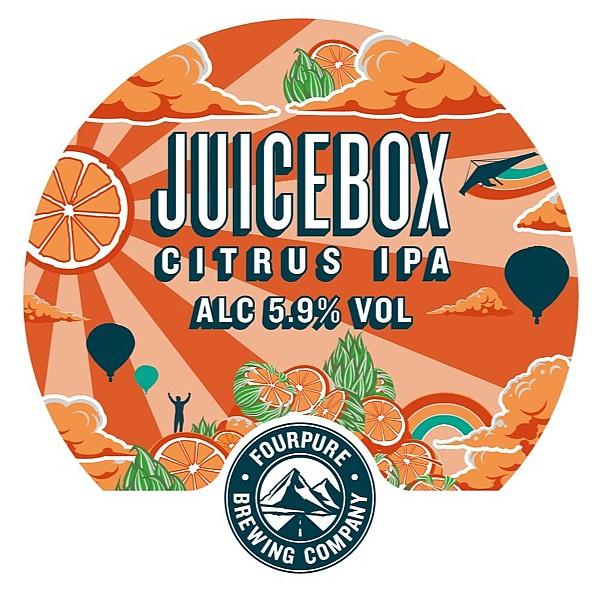 Fourpure Juicebox Oval Badge