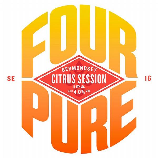 Fourpure Citrus Session Rnd Fish Eye Badge