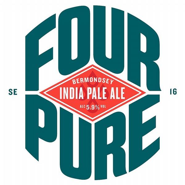 Fourpure India Pale Ale Oval Badge